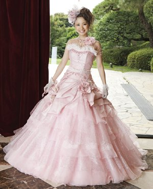 Pink Wedding Dress CP224