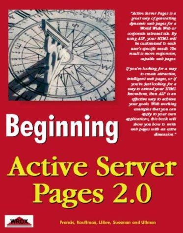 Beginning Active Server Pages 2.0 [Paperback]