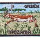 TANZANIA GAZELLE - PATCH - EMBROIDERED BADGE