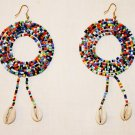 AFRICAN MAASAI (MASAI) EARRINGS - MADE IN KENYA