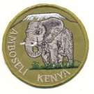 AMBOSELI KENYA PATCH  - EMBROIDERED BADGE