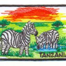 TANZANIA ZEBRAS - PATCH - EMBROIDERED BADGE