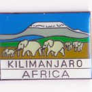 MT. KILIMANJARO AFRICA MOUNTAIN - LAPEL PIN