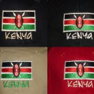 KENYA FLAG BASEBALL CAPS/HATS