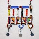 AFRICAN MAASAI (MASAI) BEAD NECKLACE/PENDANT -KENYA #51