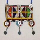 AFRICAN MAASAI (MASAI) BEAD NECKLACE/PENDANT -KENYA #46