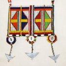 AFRICAN MAASAI (MASAI) BEAD NECKLACE/PENDANT -KENYA #41