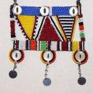 AFRICAN MAASAI (MASAI) BEAD NECKLACE/PENDANT -KENYA #34