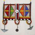 AFRICAN MAASAI (MASAI) BEAD NECKLACE/PENDANT -KENYA #28