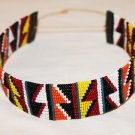 AFRICAN MAASAI (MASAI) BEAD CHOKER NECKLACE - MARA #05