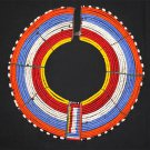 AFRICAN MAASAI (MASAI) COLLAR NECKLACE - TZ - RARE #02