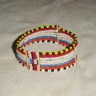 AFRICAN MAASAI (MASAI) BEAD ARM CUFF -STRING -TZ #05