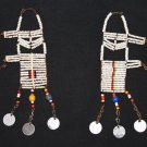 AFRICAN MAASAI (MASAI) TRADITIONAL EARRINGS - TANZANIA