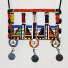 AFRICAN MAASAI (MASAI) BEAD NECKLACE/PENDANT -KENYA #72