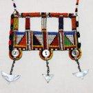 AFRICAN MAASAI (MASAI) BEAD NECKLACE/PENDANT -KENYA #66