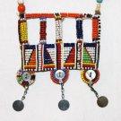 AFRICAN MAASAI (MASAI) BEAD NECKLACE/PENDANT -KENYA #62