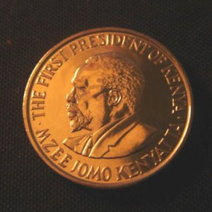 KENYA 50 CENTS COIN - KENYATTA - 2005 (UNC)