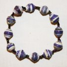 UGANDA PAPER BEADED BRACELET HANDMADE - MEDIUM BEAD #04