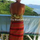 KIKOY - SARONG - PRINTED - NYASI GREEN - MADE IN KENYA