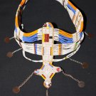 AFRICAN MAASAI (MASAI) BEAD HEAD CROWN TIARA - TZ #03