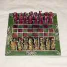 "SOAP STONE - CHESS SET 10"" - ANIMAL - HANDMADE IN KENYA"