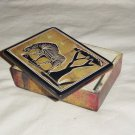 "SOAP STONE - 4"" X 3"" BOX - HANDMADE IN KENYA"