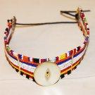 AFRICAN MAASAI (MASAI) BEAD CHOKER NECKLACE - KENYA #33