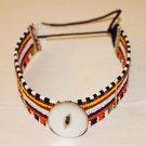 AFRICAN MAASAI (MASAI) BEAD CHOKER NECKLACE - KENYA #31