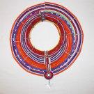 AFRICAN MAASAI (MASAI) COLLAR NECKLACE -KENYA -RARE #19