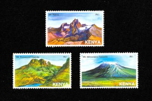 KENYA MOUNTAINS  - 28TH FEBRUARY 2007 - MNH - RARE