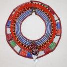 AFRICAN MAASAI (MASAI) COLLAR NECKLACE -KENYA -RARE #13
