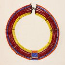 AFRICAN MAASAI (MASAI) COLLAR NECKLACE - TZ  - RARE #54
