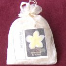Fragranced bath salt - white ginger and amber fragrance - 8 oz