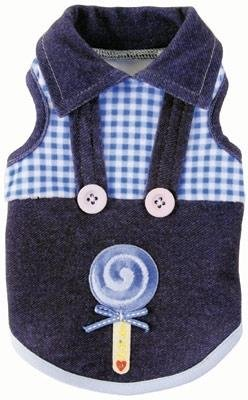 Dog Clothes Lolli Love Overall Shirt