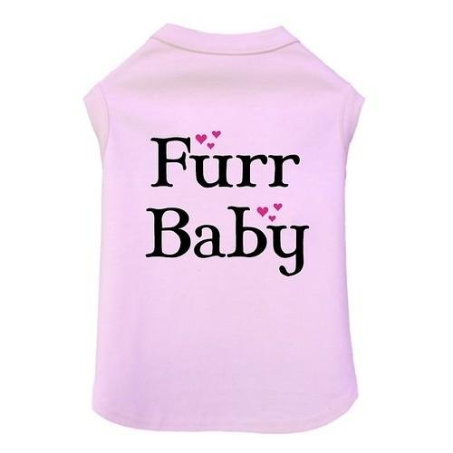 Dog Clothes Adorable Furr Baby Tank