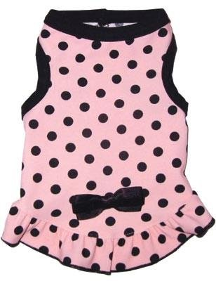 Dog Clothes Pretty In Pink Dress