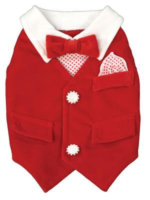 Dog Clothes Adorable Winter Wonderland Vest