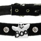 Dog Clothes Adorable Halloween Ghost Charm Collar