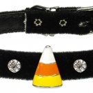 Dog Clothes Adorable Halloween Candy Corn Charm Collar