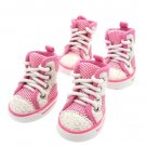 Dog Clothes Adorable Hi-Tops Pink