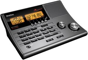 Uniden 300 Channel Clock Radio Police Scanner BC370CRS
