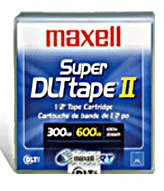 Maxell SDLTII 183715 - Data Cartridge, Tape Media, SUPER DLTtape II
