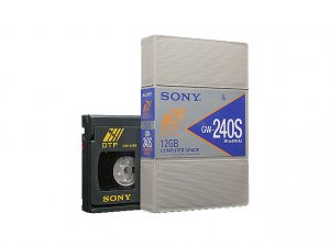 Sony GW240S -  DTF-1 Small Data Cartridge, 12GB