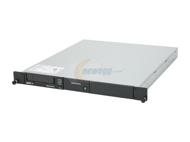 Quantum TC-L33CN-EY-B - LTO3, EXT. 1U Rackmount Tape Drive, 400/800GB, HH, SAS