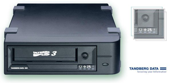 Tandberg 3510 - LTO3, EXT. Tape Drive, 400/800GB, HH