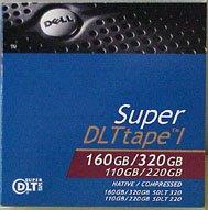 Dell Super DLT SDLT1 09W085 Data Cartridge, Tape  Media