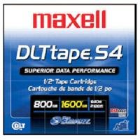 Maxell 184030 DLT S4  Data  Cartridge, 800GB/1.6TB Tape Media