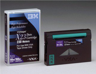 IBM 19P4876  -  8mm VXA-2 / V23 Data  Cartridge, 80/160GB
