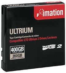 Imation 16598 LTO2  Tape Ultrium-2 200/400GB Data Cartridge