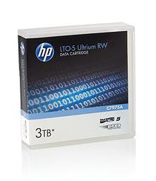 HP C7975A -  LTO-5 Tape, Ultrium Data Cartridge, 1.5 TB / 3.0 TB